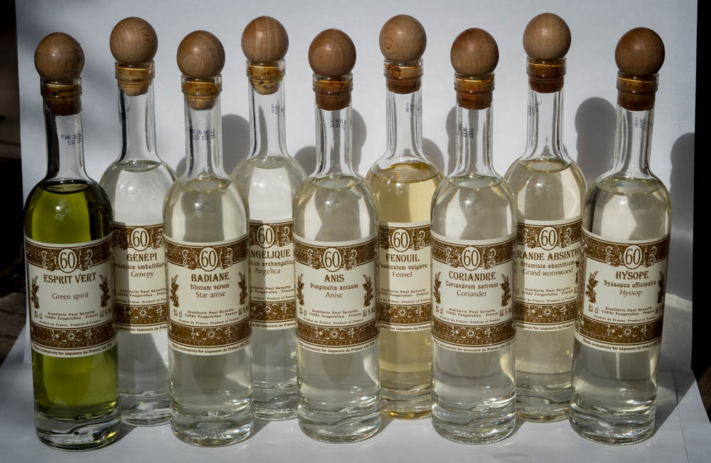 Blending distillates from Liqueurs de France.